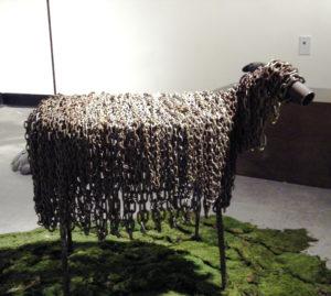 """""""Sheep"""" by Gigi Gaulin"""
